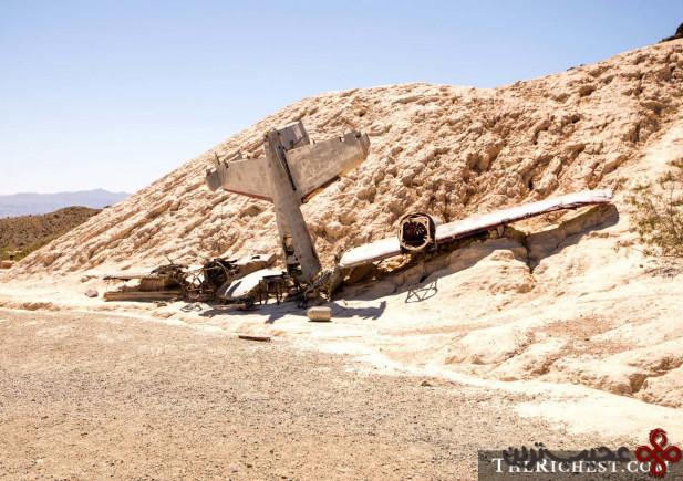"سقوط"" هواپیمای سری"""