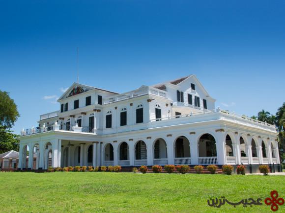 کاخ ریاست جمهوری سورینام، پاراماریبو