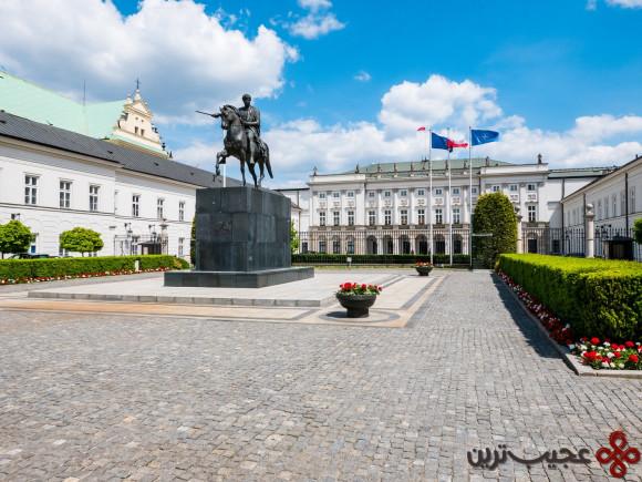 کاخ ریاست جمهوری لهستان، ورشو
