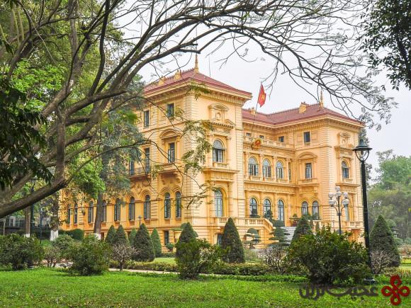 کاخ ریاست جمهوری ویتنام، هانوی
