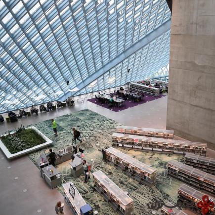 کتابخانهی عمومی سیاتل، واشنگتن