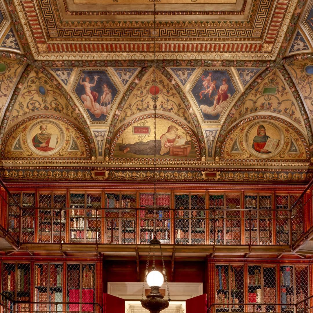 کتابخانهی مورگان، نیویورک