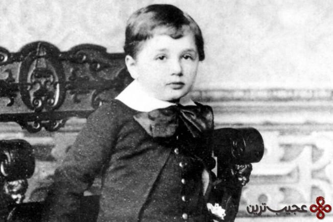 اینشتین دیرتر از کودکان معمولی لب به سخن گشود