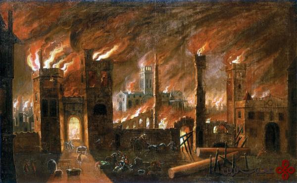 آتشسوزی بزرگ لندن