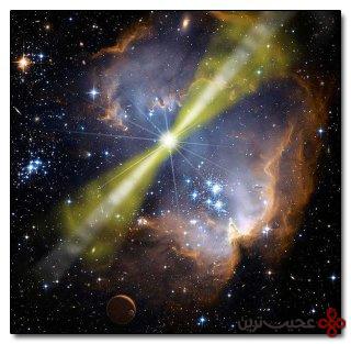 انفجار پرتوهای گاما ۴