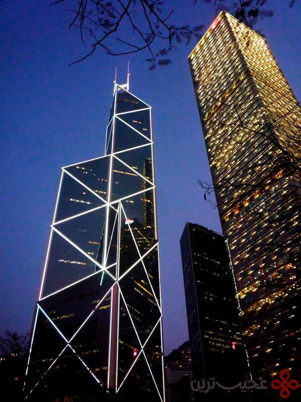 برج بانک چین، هنگکنگ، چین ۲