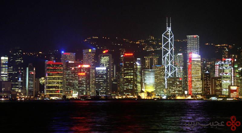 برج بانک چین، هنگکنگ، چین ۳