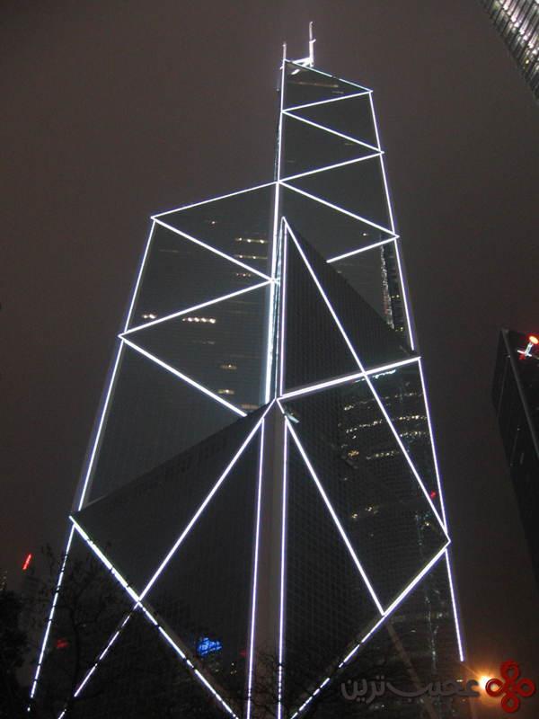 برج بانک چین، هنگکنگ، چین ۴