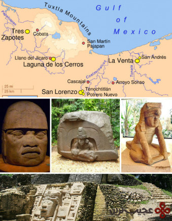 تمدن اولمک، مکزیک (the olmec civilization)