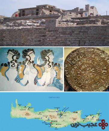 تمدن باستان عصر مفرغ جزیره کرت (the minoans, crete)