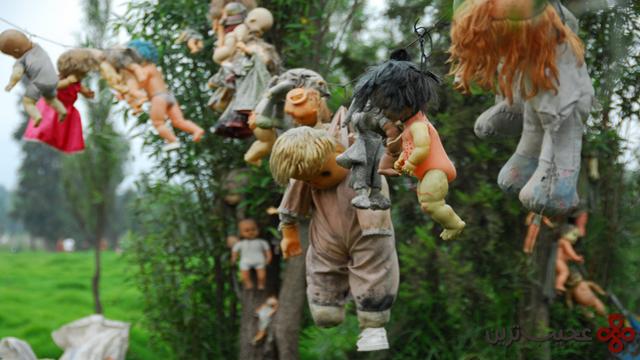 جزیرهی عروسکهای مرده