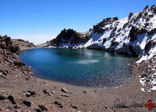 دریاچهٔ قلهٔ کوه سبلان