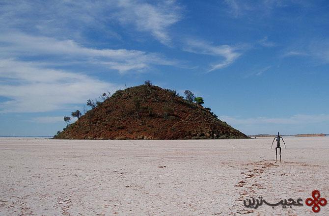 دریاچه بالارد در کشور استرالیا