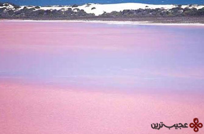 دریاچه هیلیر lake hillier در غرب کشور استرالیا