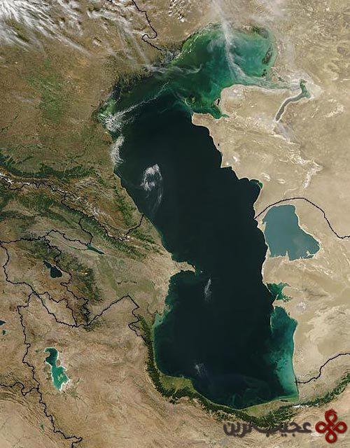 دریای مازندران (دریای خزر)