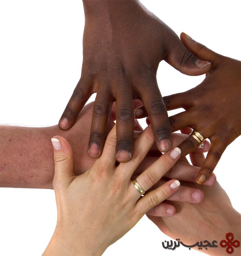 دستان انسان