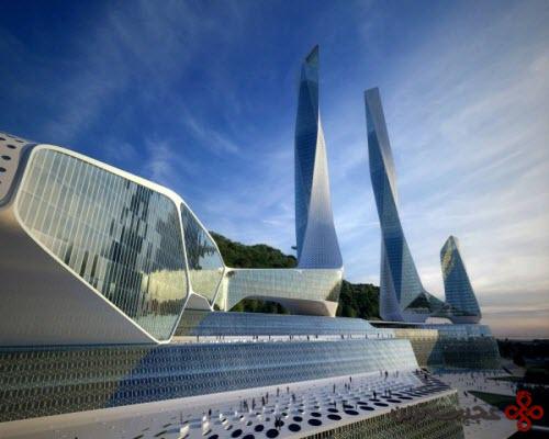 دفتر مرکزی شهر جهانی پنانگ