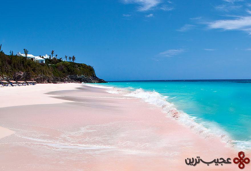 ساحل شن صورتی، باهاما ۱