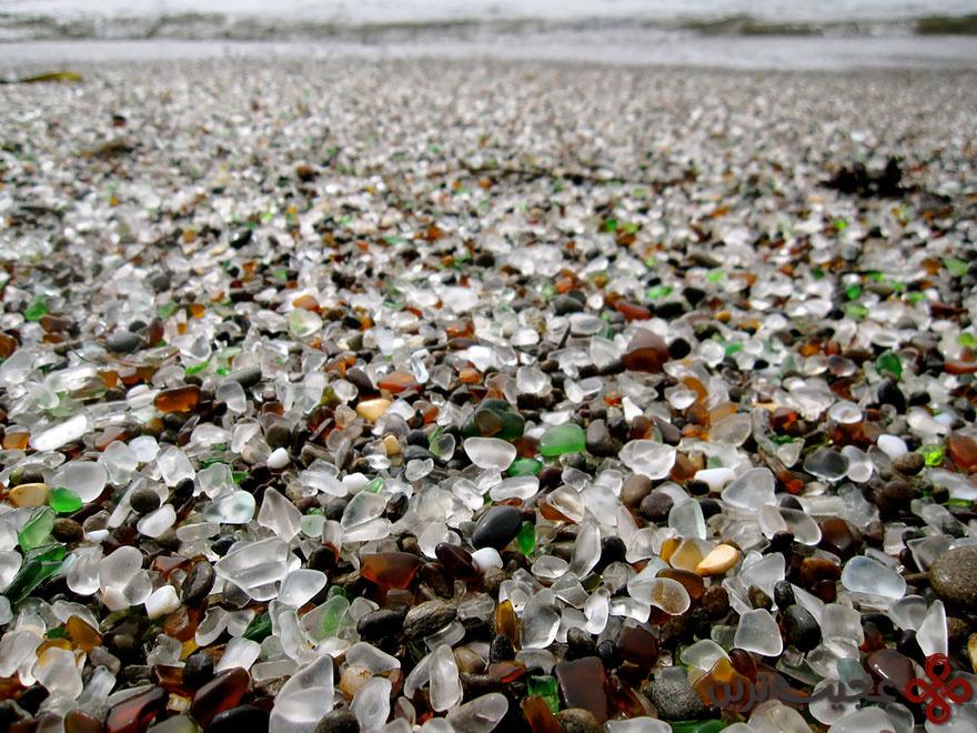 ساحل شیشهای در کالیفرنیا ۲