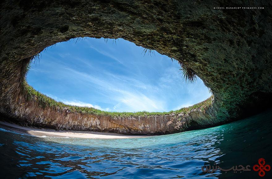 ساحل مخفی در ماریتا، مکزیک ۲