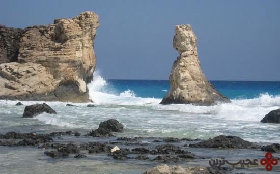 ساحل نزدیک مرسی مطروح؛ مصر
