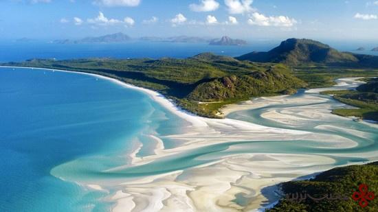 ساحل پناهگاه سفید؛ استرالیا
