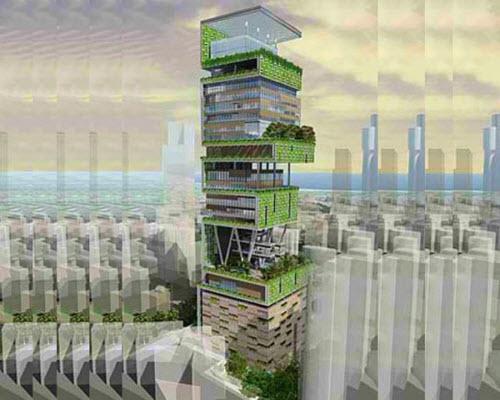 ۱۰ طراحی بسیار جالب برای ساختمان ها در سراسر جهان!