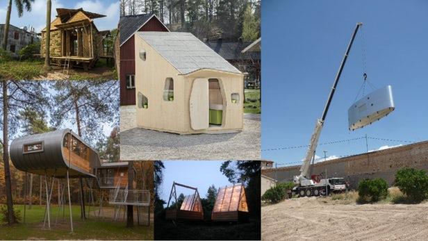 عکس کاور ۱۰ نمونه از بهترین خانههای سبک وزن