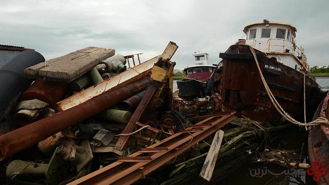 قبرستان قایقها در جزیرهی استیتن