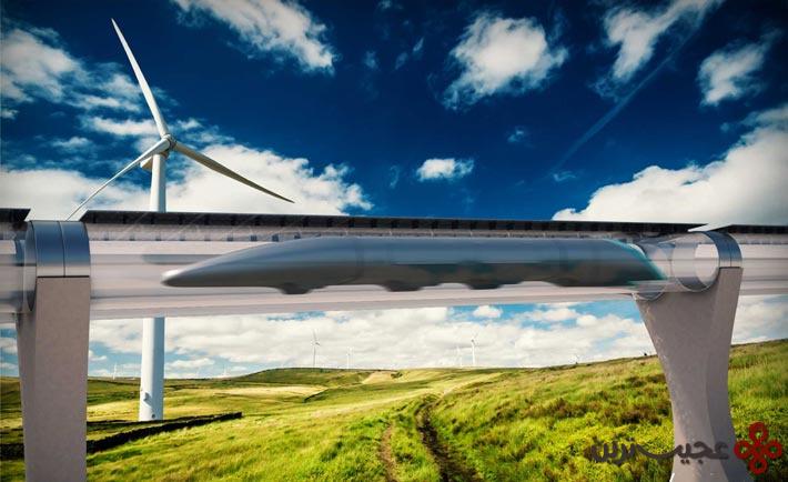 قطارهای لولهای فوقالعاده خیلی زود تند سوپر سریعالسیر