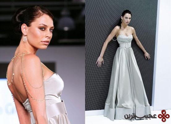 لباس عروسی طراحی داناشا لاجری