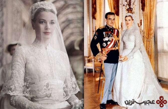 لباس عروسی گریس کلی