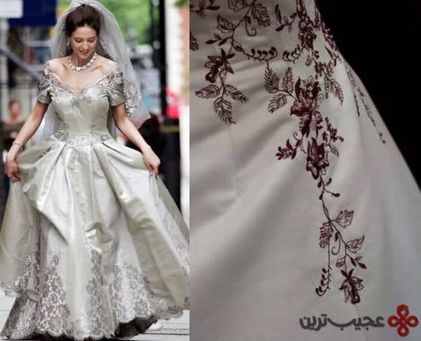 لباس عروس طراحی مائورو آدامی