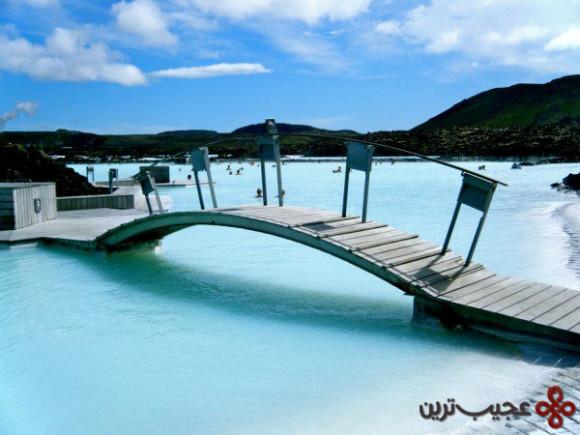 مرداب آبی رنگ ایسلند