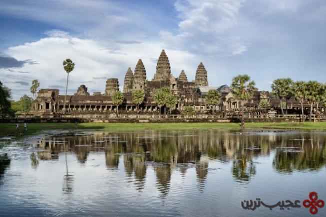 معبد انگکور وات در کامبوج1