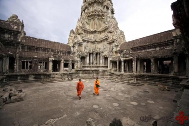 معبد انگکور وات در کامبوج2