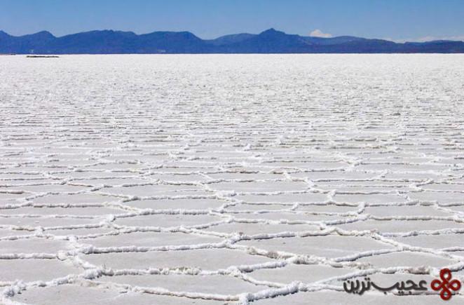 منطقه salar de uyuni در جنوب غربی کشور بولیوی