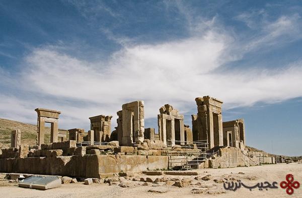 apadana palace persepolis iran
