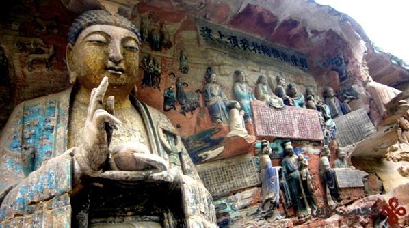 dazu rock carvings china