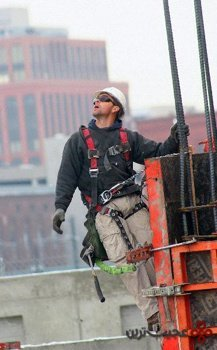 steel and iron construction workers