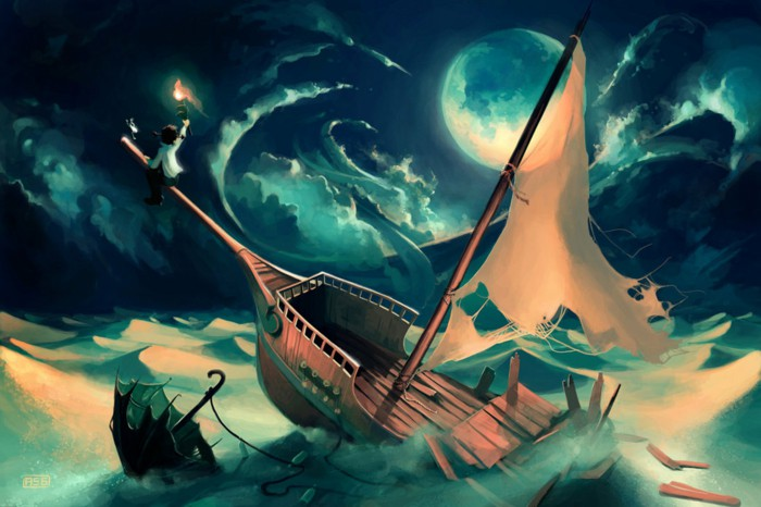 dream interpretation ship sea dream symbol