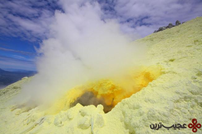 آتشفشان سینابونگ (sinabung volcano)، اندونزی