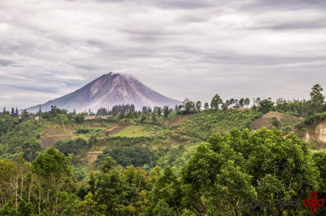 آتشفشان سینابونگ (sinabung volcano)، اندونزی1