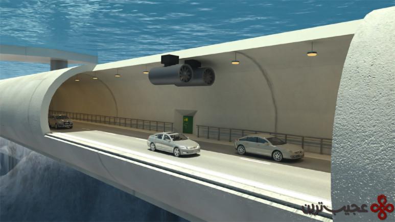 تونل های شناور نروژ