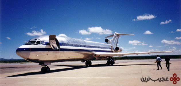 ۱۰ در سال ۲۰۰۳، بوئینگ ۷۲۷ از فرودگاه آنگولا ربوده شد