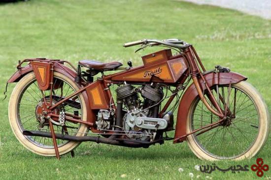 ۱۶ trab، نادرترین موتورسیکلت جهان، در سال ۱۹۶۸ در شیکاگو در پشت یک دیوار آجری پیدا شده و تاکنون کار می کند