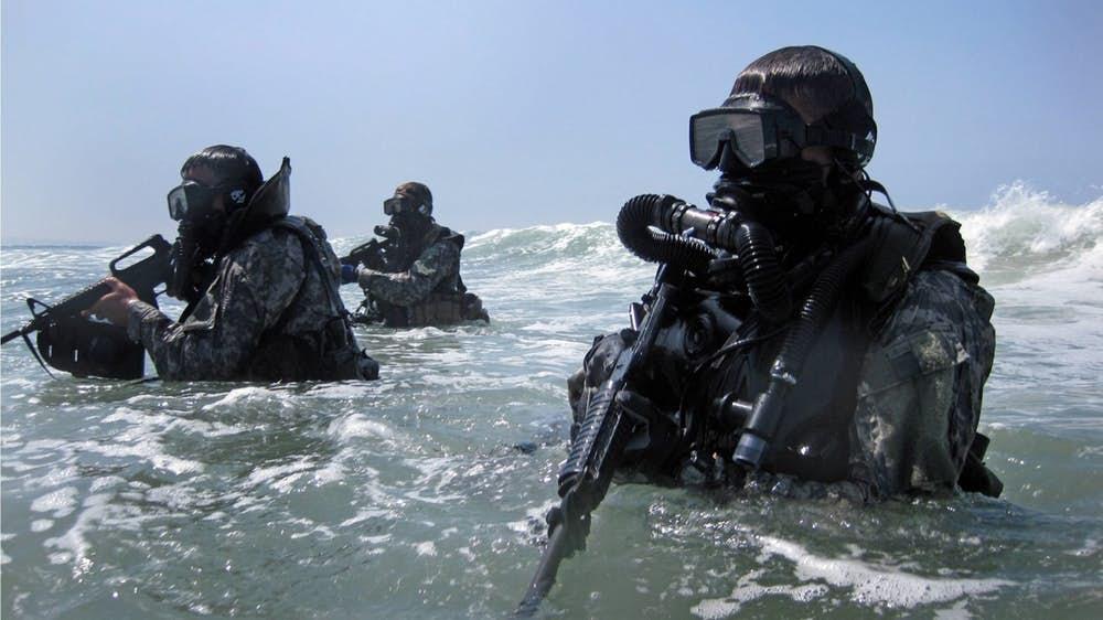شماره 2 نیروهای navy seals آمریکا