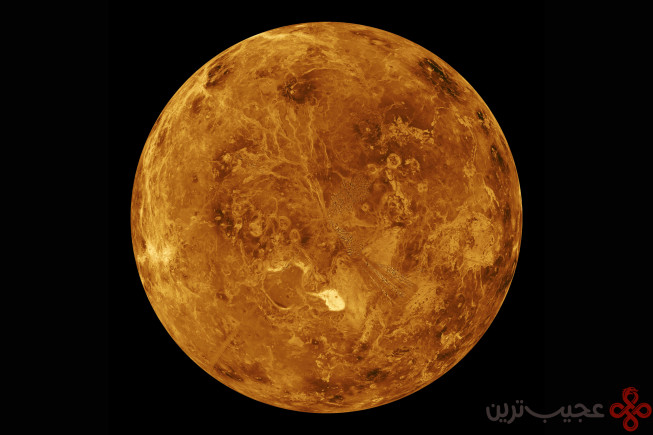 2 شرایط خاص سیاره زهره